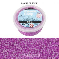 788840 Foam Clay Oranje Glitter