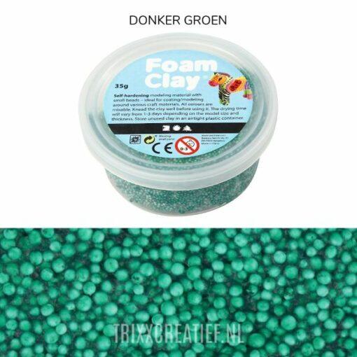 78954 Foam Clay Donker Groen