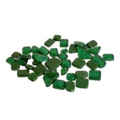Glitter Mozaiek Donker Groen