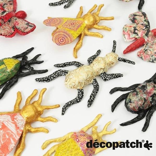 Décopatch Insecten Nieuwe Collectie 2019