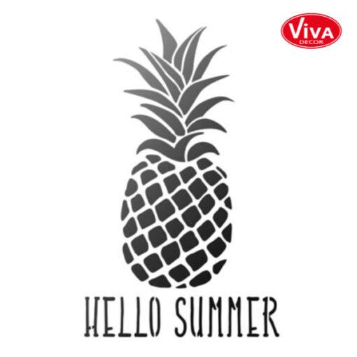 900280800 VivaDecor sjabloon A4 Ananas