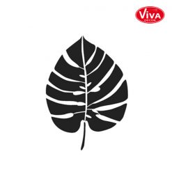 900288100 VivaDecor sjabloon A5 Monstera blad klein