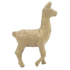 Décopatch AP163 Kleine Alpaca Lama papiermache