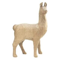 Décopatch SA182 Alpaca Lama papiermache
