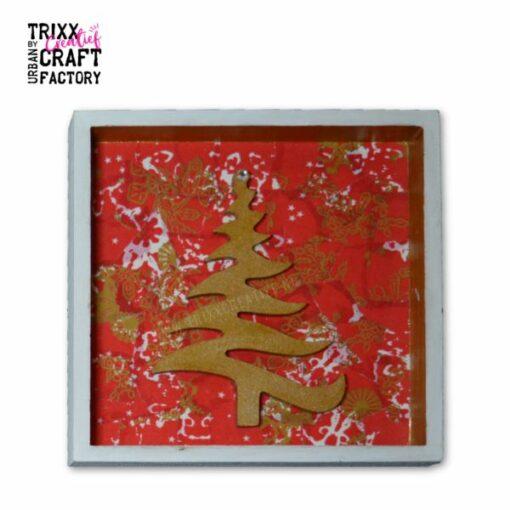 8073-1354 Voorbeeld 01 kader kerstboom