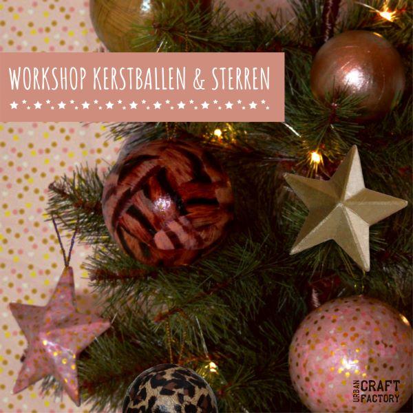 Workshop Kerstballen en Sterren 01