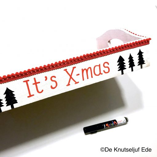 575300 Kerst Dienblad - De Knutseljuf