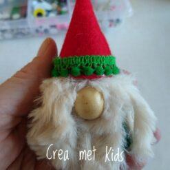Crea met Kids Kerst Gnoompjes