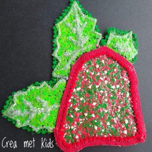 Crea met Kids Kerstklok hanger