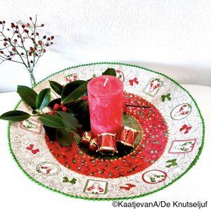 Décopatch Kerstschaal van De Knutseljuf HD002