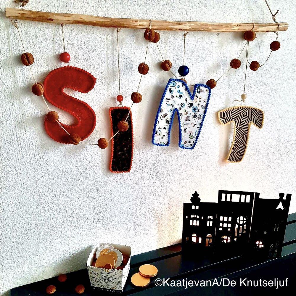 Decopatch Sint Letters DeKnutseljuf PKT03_01