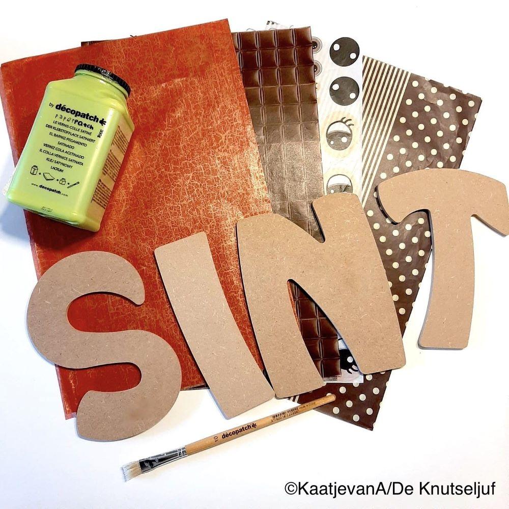 Decopatch Sint Letters DeKnutseljuf PKT03_02