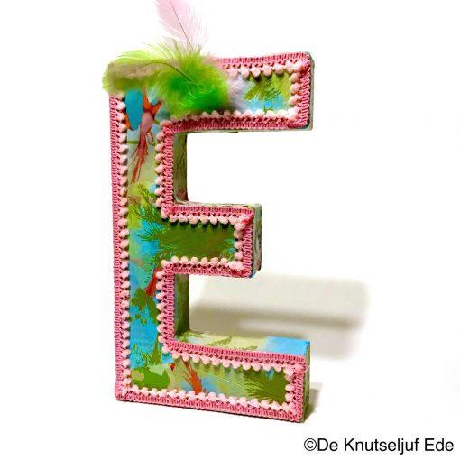 FDA693 Letter E DeKnutseljuf