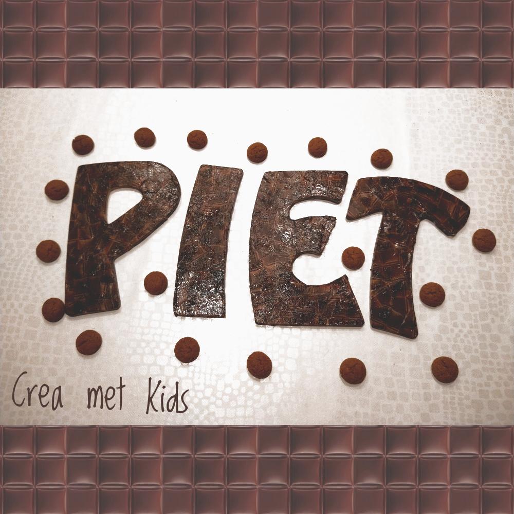 MDF Decopatch Letters Piet van Crea met Kids PKT04_01