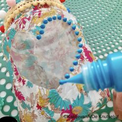 Perlen Pan Turquoise Parel Stippen - De Knutseljuf