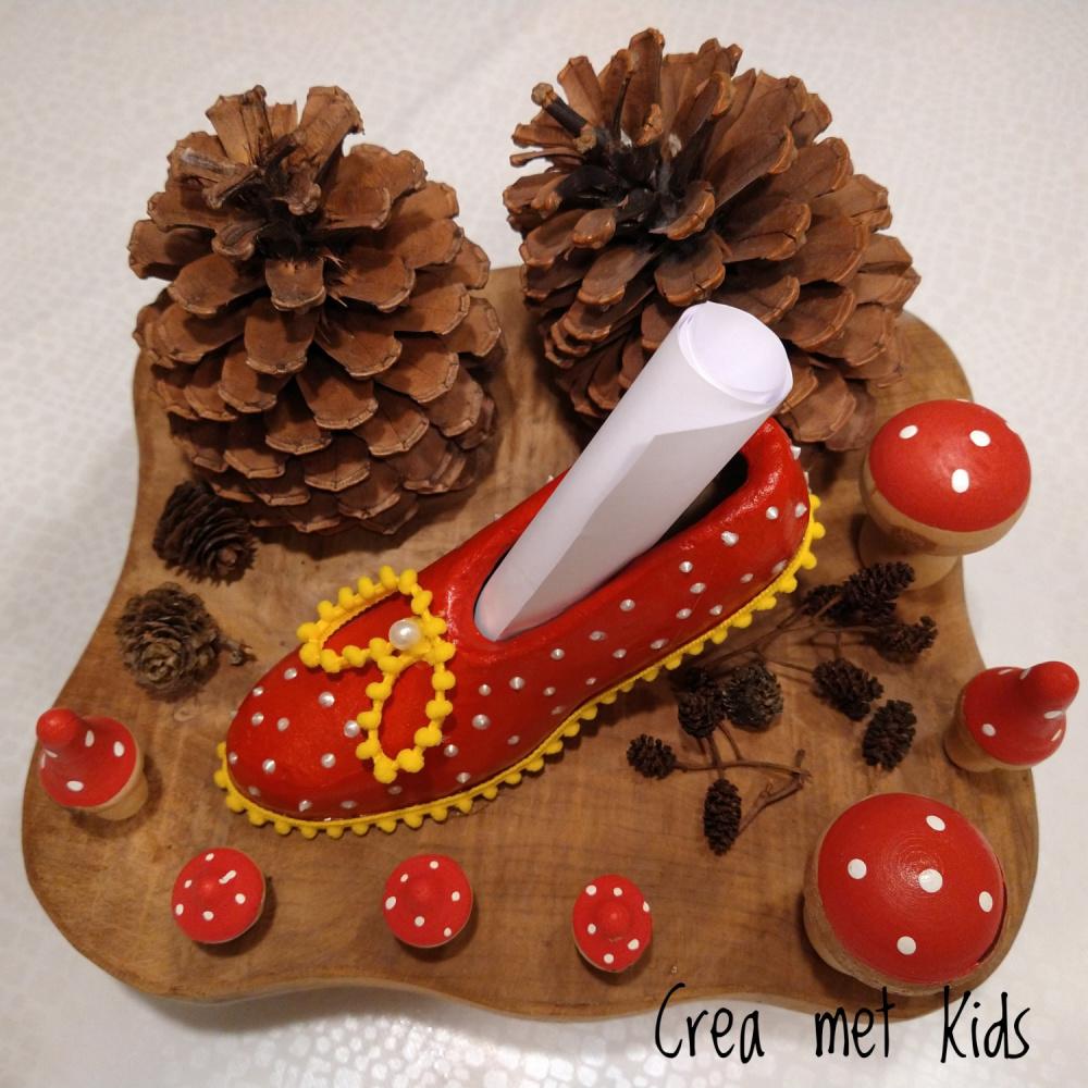 Sinterklaas schoentje van Crea met Kids