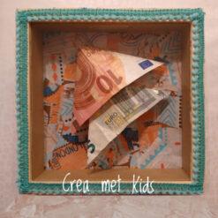 Vakantie Fotolijst Spaarpot van Crea met Kids HG665