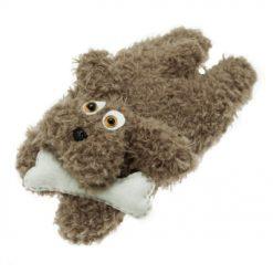 24001402 Stafil Wooly Curls stof Bruin - Hond