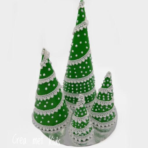 26549 Kerstboom Kegels - Crea met kids