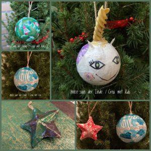 Kerstballen Gastouderopvang Ineke - Crea met kids
