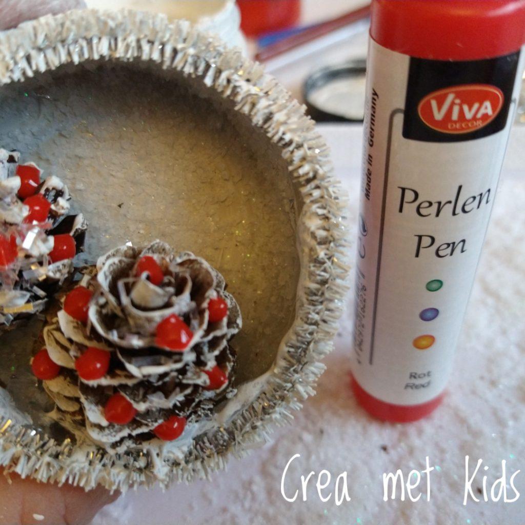 Kerstdecoratie hangers - Crea met kids
