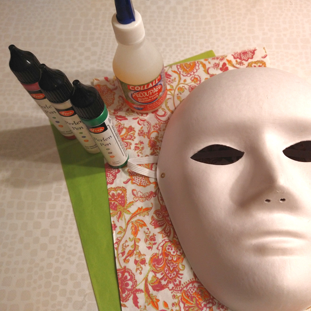 Masker met Decopatch - Crea met Kids