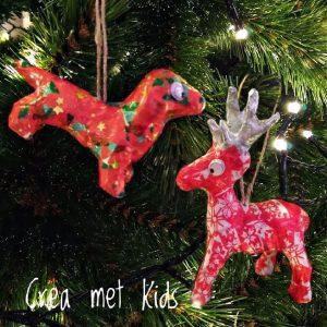 NO022 NO033 Décopatch Kersthangers - Crea met Kids