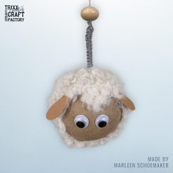vb Schaapjes hangers - Marleen Schoemaker