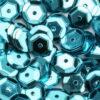 12212-1208 Pailletten 6 mm - Turquoise