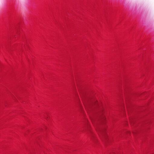 12228-2803 Marabou Veren Rood - Red