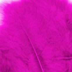 12228-2807 Marabou Veren Fuchsia Roze - Pink