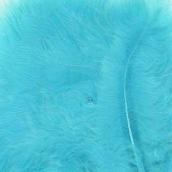12228-2809 Marabou Veren Turquoise Blauw - Turkoois Blue