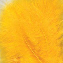 12228-2811 Marabou Veren Geel - Yellow