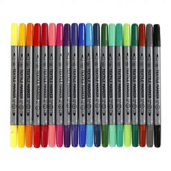 34817 Textielstiften 20 Kleuren