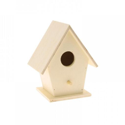 BIZ201 Vogelhuisje - Hout
