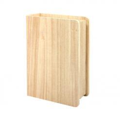 HG061 Kist Boek - Hout