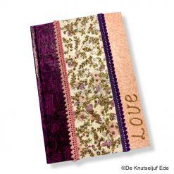 vb 26353 en 264560 Notitieboek Schrift met Décopatch en Glitter - De Knutseljuf