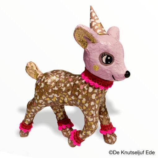 vb AP137 Décopatch Bambi Hertje - De Knutseljuf