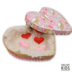 vb BT036 Décopatch Valentijn Hart doosje - Crea met Kids