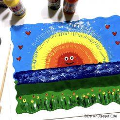 vb Regenboog Schilderij Collall Colorall Koud Emaille - De Knutseljuf