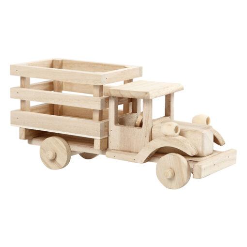 57947 Vrachtwagen Auto - Hout