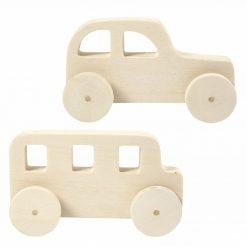 59223 Auto en Bus Speelgoed - Hout
