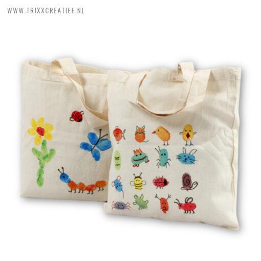 CK2103 Kinder Workshop Pakket Tasjes Verven