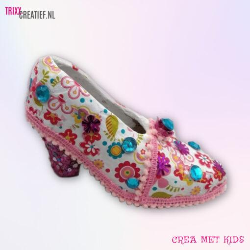 Crea Met Kids 26695 Décopatch Prinsessen Schoentje