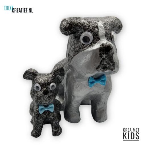 Crea Met Kids - AP194 en SA226 Décopatch Bulldogs