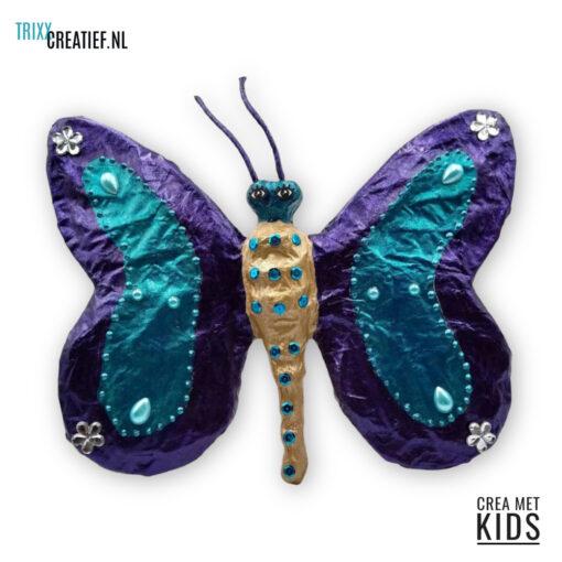 Crea Met Kids - SA183 Décopatch Vlinder