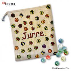 De Knutseljuf - 49970 Knikkerzak met Textielstiften