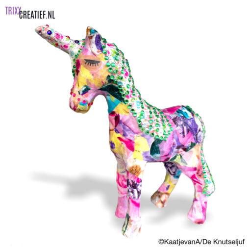 De Knutseljuf - AP147 Décopatch Eenhoorn Unicorn