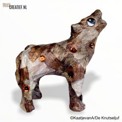 De Knutseljuf - AP191 Décopatch Wolf