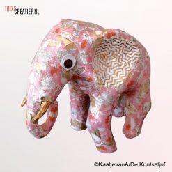 De Knutseljuf - SA213 Afrikaanse Olifant met Décopatch
